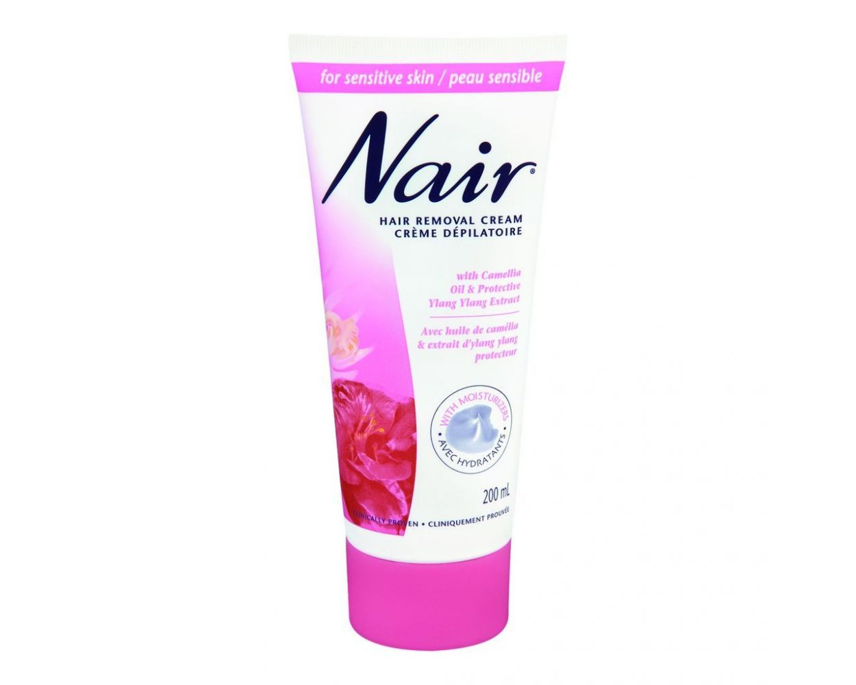 Nair Hair Removal Cream Rose Fragrance 110ml 2 Hours Free