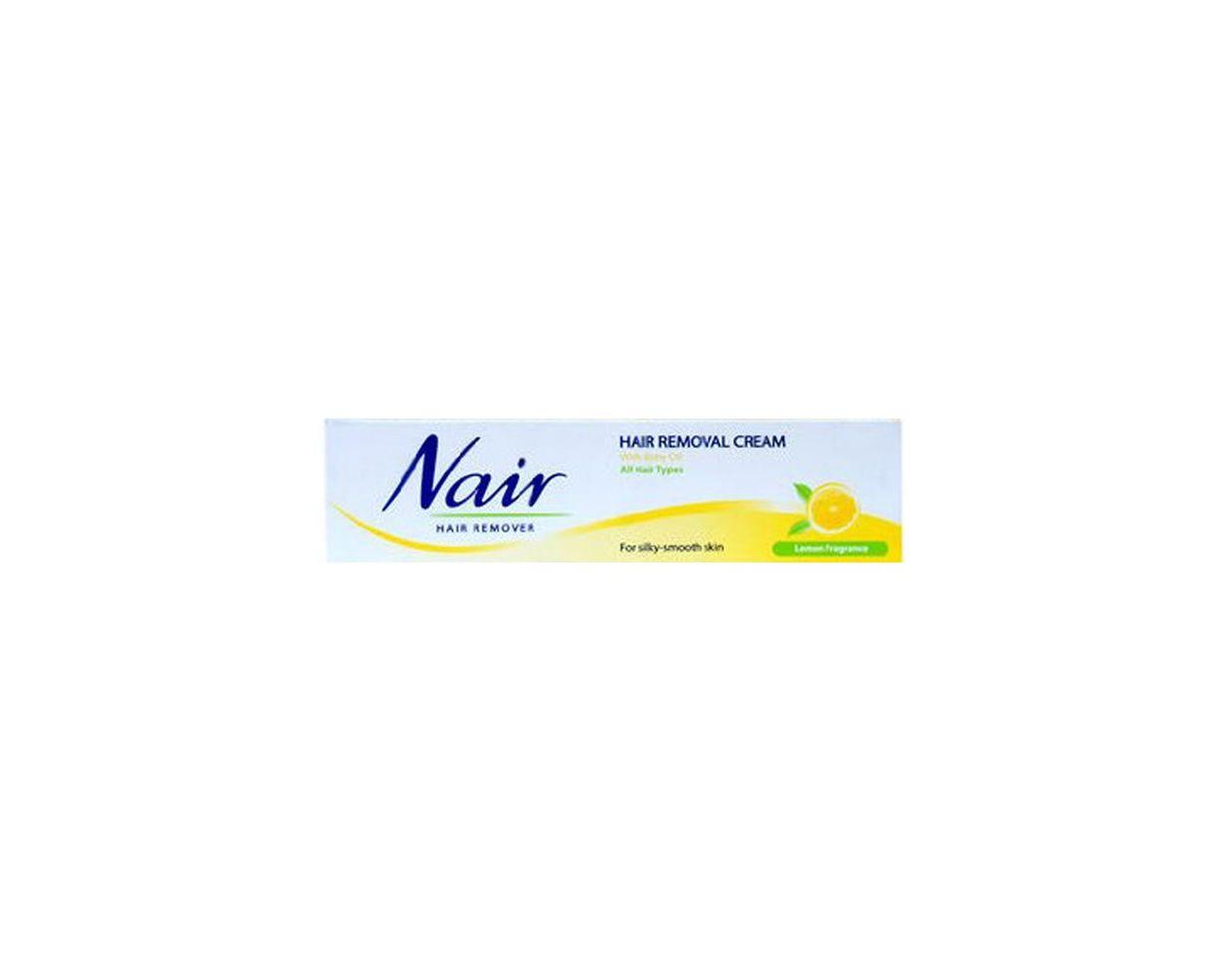 Nair Hair Removal Cream Lemon Fragrance 110ml 2 Hours Free