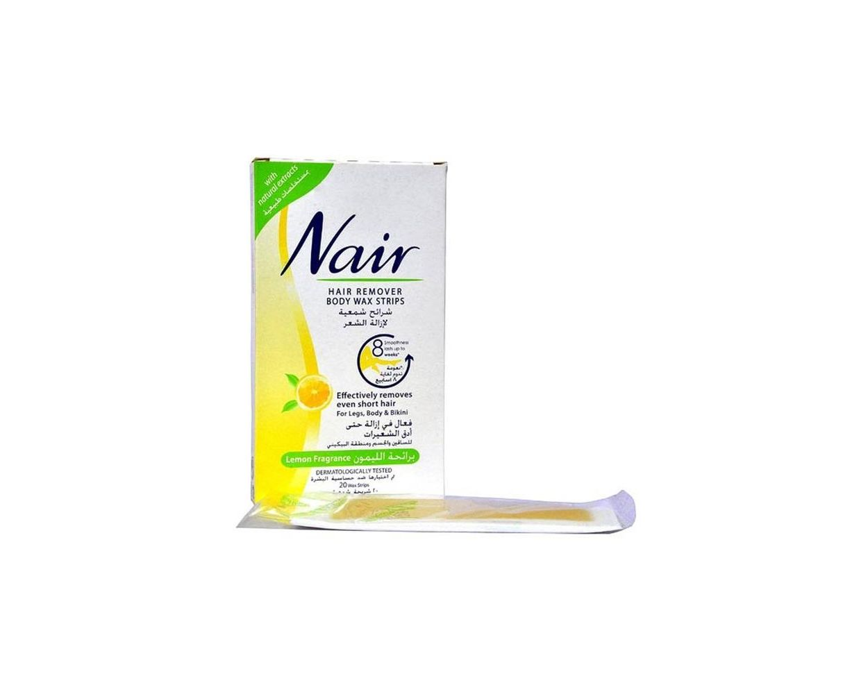 Nair Body Wax Strip 20s Pack 2 Hours Free Delivery Anywhere In