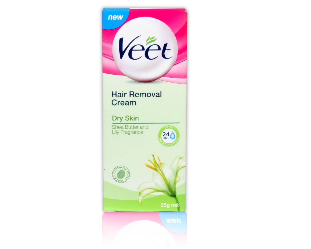 Veet Hair Removal Cream Dry Skin 25gm 2 Hours Free Delivery